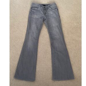 Vtg The limited gray boot cut flare jean sz 2